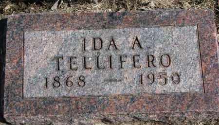 TELLIFERO, IDA A. - Burt County, Nebraska | IDA A. TELLIFERO - Nebraska Gravestone Photos