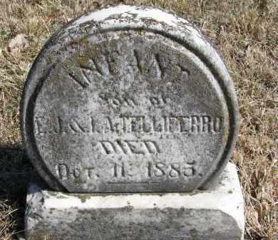 TELLIFERO, INF - Burt County, Nebraska   INF TELLIFERO - Nebraska Gravestone Photos