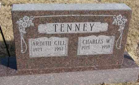 TENNEY, CHARLES W. - Burt County, Nebraska | CHARLES W. TENNEY - Nebraska Gravestone Photos