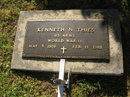 THIES, KENNETH N. (MILITARY MARKER) - Burt County, Nebraska | KENNETH N. (MILITARY MARKER) THIES - Nebraska Gravestone Photos