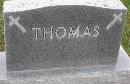 THOMAS, PLOT - Burt County, Nebraska | PLOT THOMAS - Nebraska Gravestone Photos