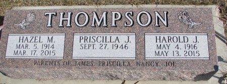 HENRY THOMPSON, HAZEL M. - Burt County, Nebraska | HAZEL M. HENRY THOMPSON - Nebraska Gravestone Photos