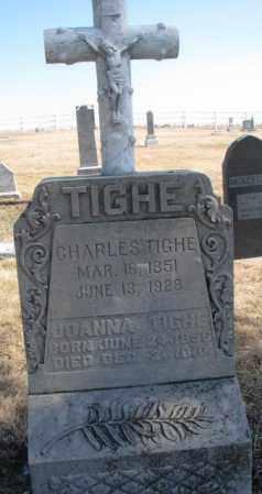 TIGHE, CHARLES - Burt County, Nebraska | CHARLES TIGHE - Nebraska Gravestone Photos