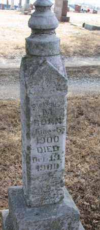 TIPPERY, FLORENCE M. - Burt County, Nebraska | FLORENCE M. TIPPERY - Nebraska Gravestone Photos