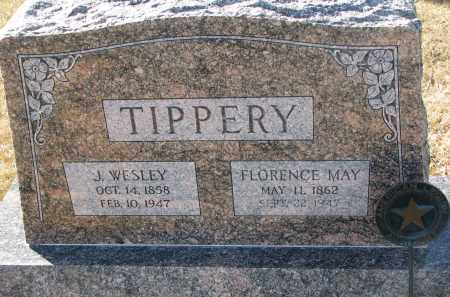 TIPPERY, FLORENCE MAY - Burt County, Nebraska | FLORENCE MAY TIPPERY - Nebraska Gravestone Photos