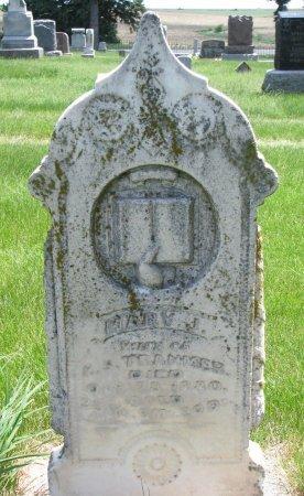 LOWE TRANMER, MARY JANE - Burt County, Nebraska | MARY JANE LOWE TRANMER - Nebraska Gravestone Photos
