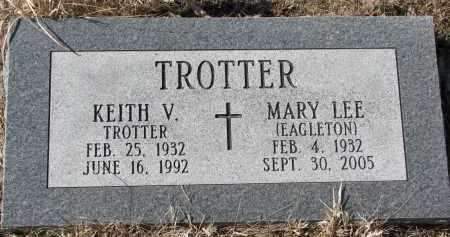 EAGLETON TROTTER, MARY LEE - Burt County, Nebraska | MARY LEE EAGLETON TROTTER - Nebraska Gravestone Photos