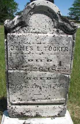 TUCKER, JAMES L. - Burt County, Nebraska | JAMES L. TUCKER - Nebraska Gravestone Photos
