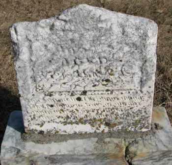 UNKNOWN, . - Burt County, Nebraska   . UNKNOWN - Nebraska Gravestone Photos