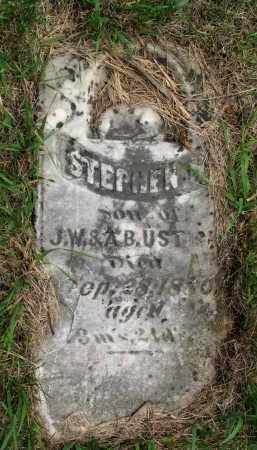 USTICK, STEPHEN H. - Burt County, Nebraska   STEPHEN H. USTICK - Nebraska Gravestone Photos