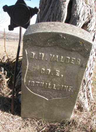 VALDER, D.H. - Burt County, Nebraska | D.H. VALDER - Nebraska Gravestone Photos