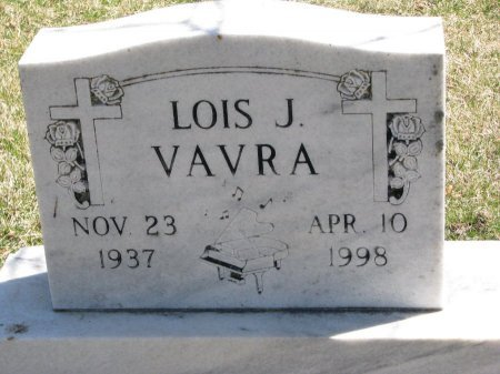 FREY VAVRA, LOIS J. - Burt County, Nebraska | LOIS J. FREY VAVRA - Nebraska Gravestone Photos