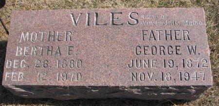 OSBERG VILES, BERTHA E. - Burt County, Nebraska | BERTHA E. OSBERG VILES - Nebraska Gravestone Photos
