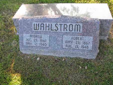 WAHLSTROM, ROBERT - Burt County, Nebraska | ROBERT WAHLSTROM - Nebraska Gravestone Photos