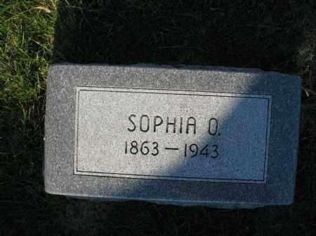 WAHLSTROM, SOPHIA O. - Burt County, Nebraska | SOPHIA O. WAHLSTROM - Nebraska Gravestone Photos