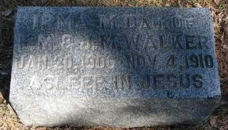 WALKER, IRMA M. - Burt County, Nebraska   IRMA M. WALKER - Nebraska Gravestone Photos