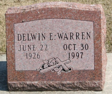 WARREN, DELWIN E. - Burt County, Nebraska | DELWIN E. WARREN - Nebraska Gravestone Photos