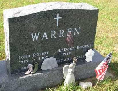 WARREN, JOHN ROBERT - Burt County, Nebraska | JOHN ROBERT WARREN - Nebraska Gravestone Photos