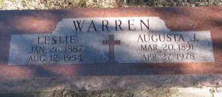 WARREN, AUGUSTA J. - Burt County, Nebraska | AUGUSTA J. WARREN - Nebraska Gravestone Photos