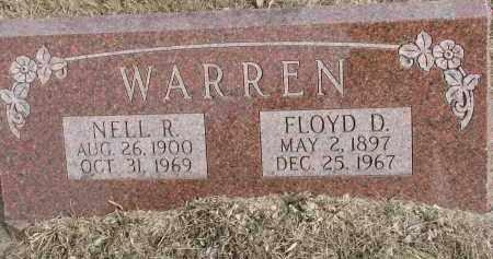 WARREN, FLOYD DELOFF - Burt County, Nebraska | FLOYD DELOFF WARREN - Nebraska Gravestone Photos