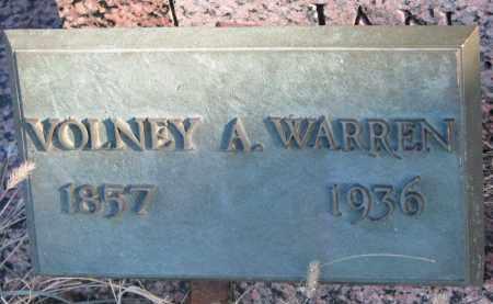 WARREN, VOLNEY A. - Burt County, Nebraska | VOLNEY A. WARREN - Nebraska Gravestone Photos