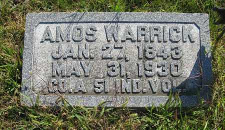 WARRICK, AMOS - Burt County, Nebraska | AMOS WARRICK - Nebraska Gravestone Photos