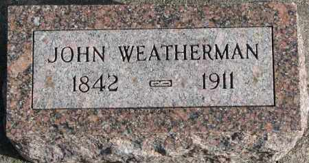 WEATHERMAN, JOHN - Burt County, Nebraska   JOHN WEATHERMAN - Nebraska Gravestone Photos
