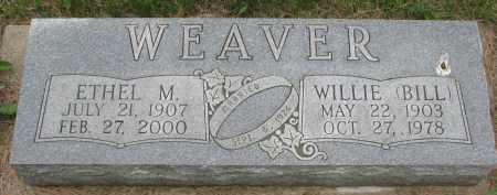 WEAVER, ETHEL M. - Burt County, Nebraska | ETHEL M. WEAVER - Nebraska Gravestone Photos