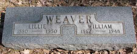 WEAVER, WILLIAM - Burt County, Nebraska | WILLIAM WEAVER - Nebraska Gravestone Photos