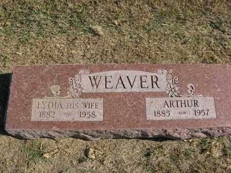 WEAVER, ARTHUR - Burt County, Nebraska | ARTHUR WEAVER - Nebraska Gravestone Photos