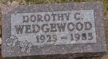 WEDGEWOOD, DOROTHY C. - Burt County, Nebraska | DOROTHY C. WEDGEWOOD - Nebraska Gravestone Photos