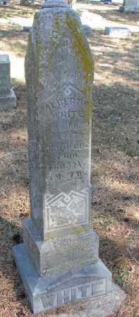 WHITE, ALBERT M. - Burt County, Nebraska   ALBERT M. WHITE - Nebraska Gravestone Photos