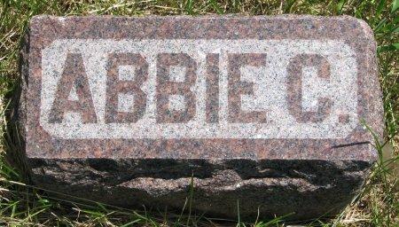 WHITE, ABBIE C. (FOOT STONE) - Burt County, Nebraska   ABBIE C. (FOOT STONE) WHITE - Nebraska Gravestone Photos