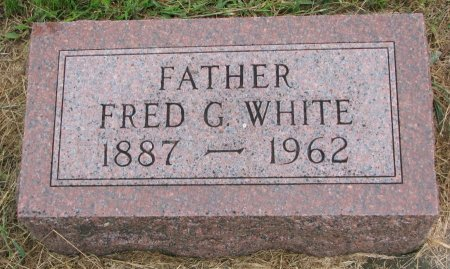 WHITE, FRED G. - Burt County, Nebraska | FRED G. WHITE - Nebraska Gravestone Photos