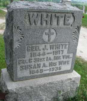 WHITE, GEO. J. - Burt County, Nebraska | GEO. J. WHITE - Nebraska Gravestone Photos