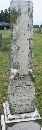WHITE, GEORGE J. JR. - Burt County, Nebraska | GEORGE J. JR. WHITE - Nebraska Gravestone Photos