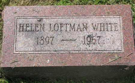 WHITE, HELEN - Burt County, Nebraska | HELEN WHITE - Nebraska Gravestone Photos