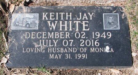 WHITE, KEITH JAY - Burt County, Nebraska | KEITH JAY WHITE - Nebraska Gravestone Photos