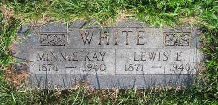 WHITE, MINNIE - Burt County, Nebraska | MINNIE WHITE - Nebraska Gravestone Photos