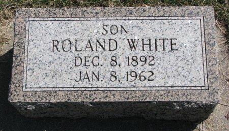 WHITE, ROLAND - Burt County, Nebraska | ROLAND WHITE - Nebraska Gravestone Photos