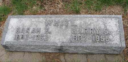 WHITE, SARAH E. - Burt County, Nebraska | SARAH E. WHITE - Nebraska Gravestone Photos