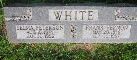WHITE, SELMA - Burt County, Nebraska | SELMA WHITE - Nebraska Gravestone Photos