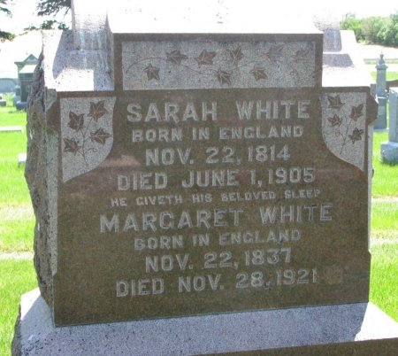 WHITE, SARAH - Burt County, Nebraska   SARAH WHITE - Nebraska Gravestone Photos