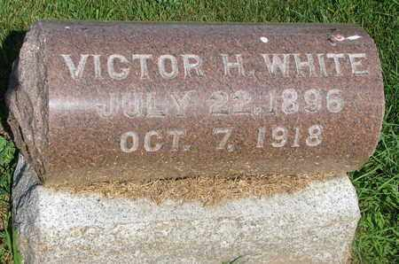 WHITE, VICTOR H. - Burt County, Nebraska | VICTOR H. WHITE - Nebraska Gravestone Photos