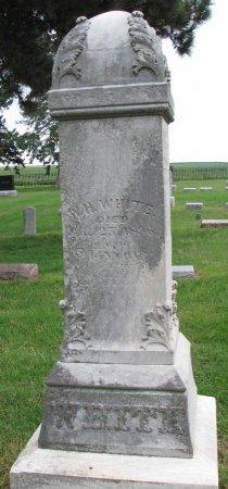 WHITE, WILLIAM H. - Burt County, Nebraska | WILLIAM H. WHITE - Nebraska Gravestone Photos