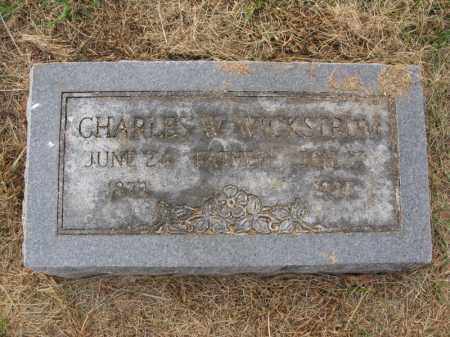 WICKSTROM, CHARLES W. - Burt County, Nebraska | CHARLES W. WICKSTROM - Nebraska Gravestone Photos