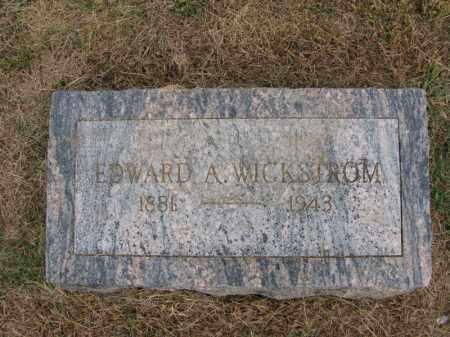 WICKSTROM, EDWARD A. - Burt County, Nebraska | EDWARD A. WICKSTROM - Nebraska Gravestone Photos