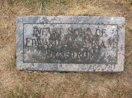 WICKSTROM, (INFANT SONS) - Burt County, Nebraska | (INFANT SONS) WICKSTROM - Nebraska Gravestone Photos