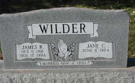 WILDER, JAMES R. - Burt County, Nebraska | JAMES R. WILDER - Nebraska Gravestone Photos