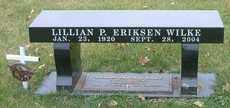 ERIKSEN WILKE, LILLIAN P. - Burt County, Nebraska   LILLIAN P. ERIKSEN WILKE - Nebraska Gravestone Photos